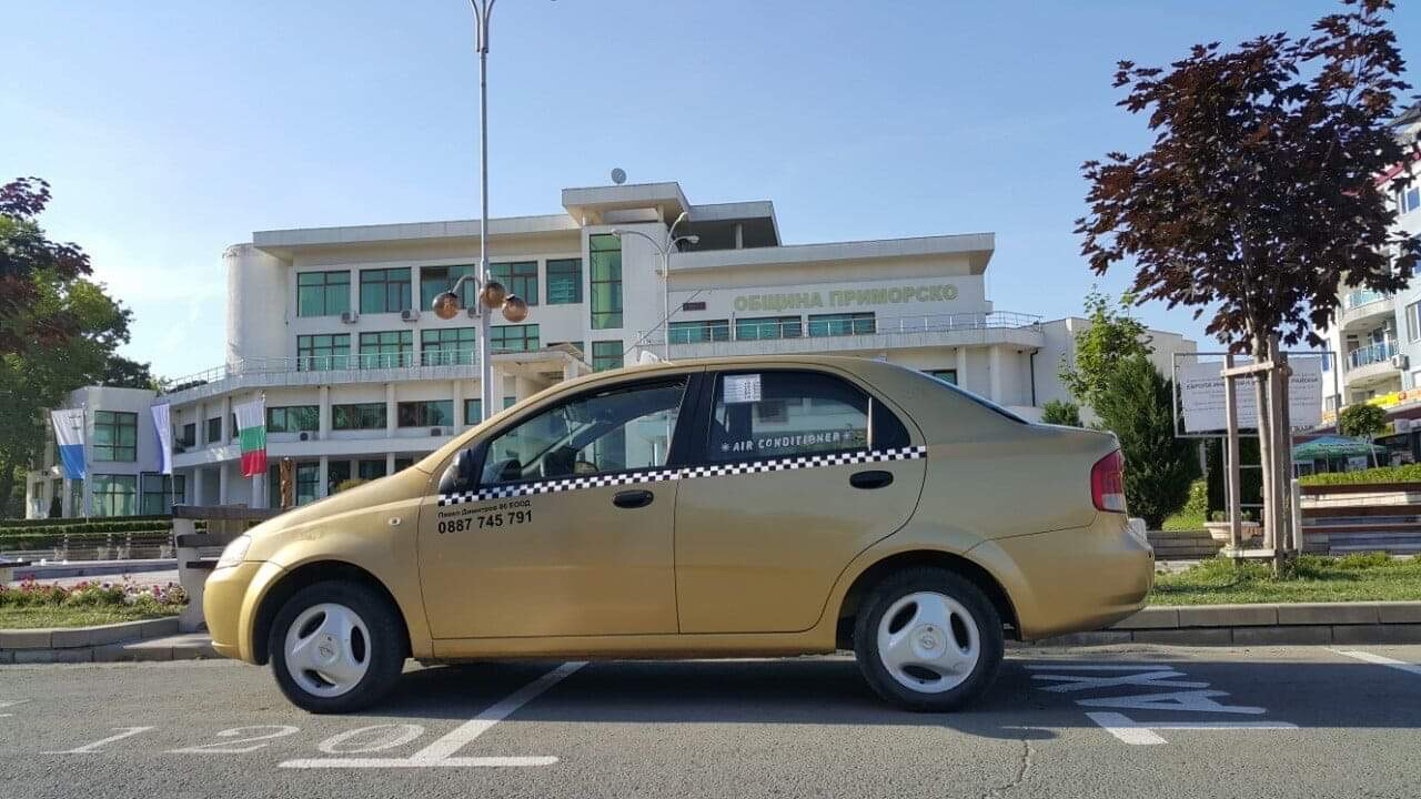 Такси Приморско